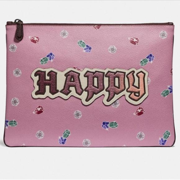 Coach Handbags - Coach Disney Large Wristlet